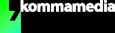 Kommamedia — Logo Entwurf 2018-08